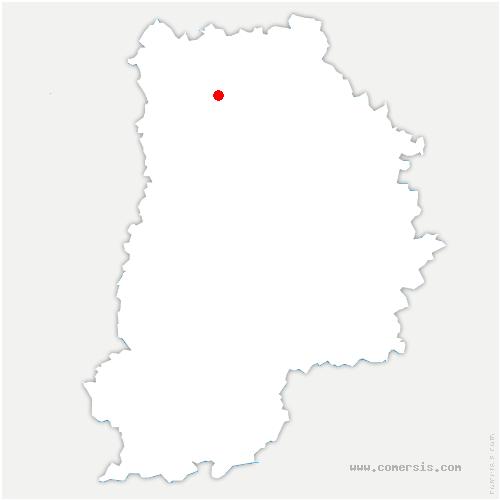 carte de localisation de Villenoy