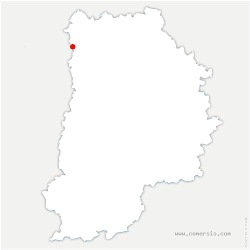 carte de localisation de Villeparisis