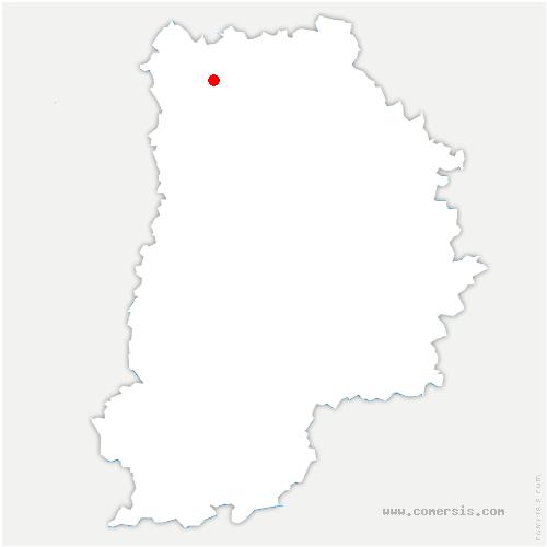 carte de localisation de Villeroy