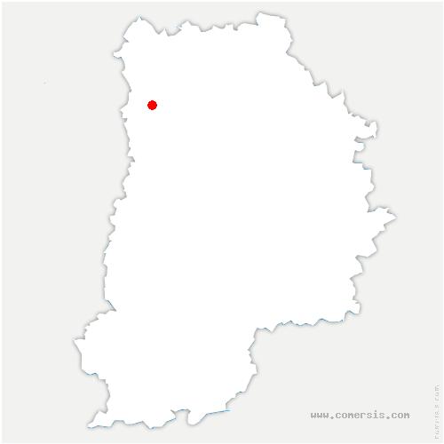 carte de localisation de Villevaudé