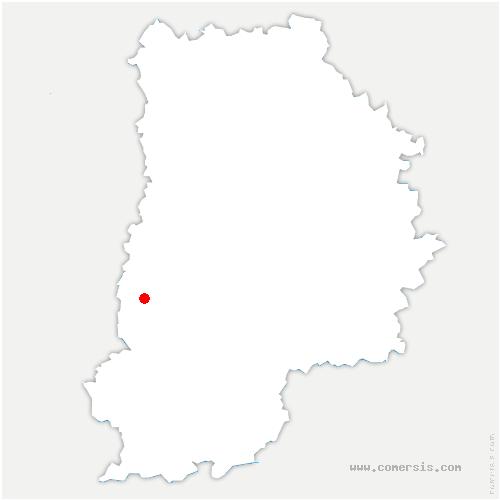 carte de localisation de Villiers-en-Bière
