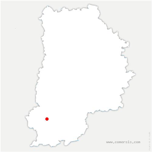 carte de localisation de Villiers-sous-Grez