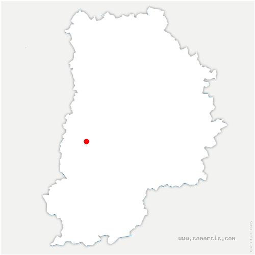 carte de localisation de Voisenon