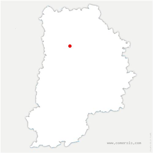 carte de localisation de Voulangis