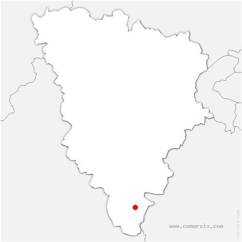 carte de localisation de Ablis