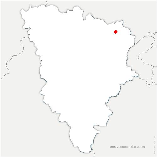 carte de localisation de Achères
