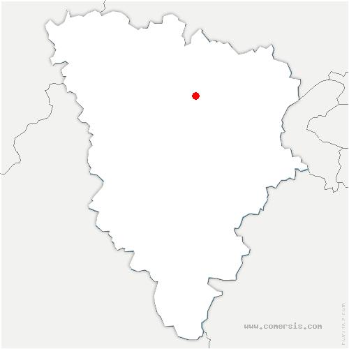 carte de localisation de Alluets-le-Roi
