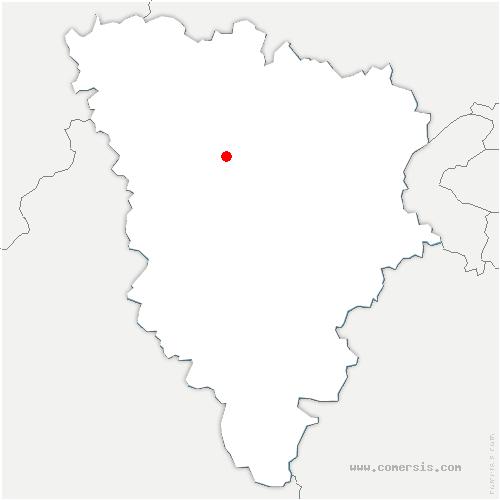 carte de localisation de Andelu