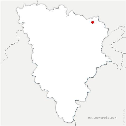 carte de localisation de Andrésy