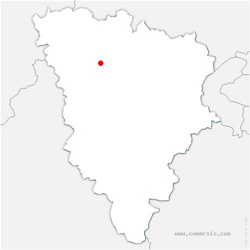 carte de localisation de Arnouville-lès-Mantes