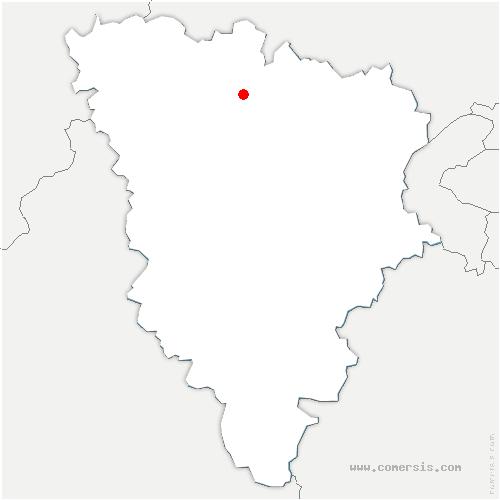 carte de localisation de Aubergenville