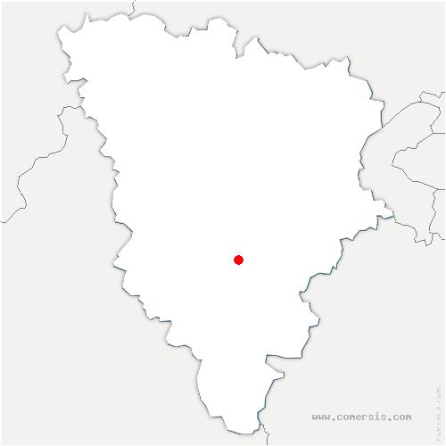 carte de localisation de Auffargis