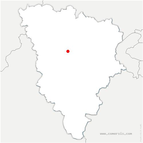carte de localisation de Autouillet