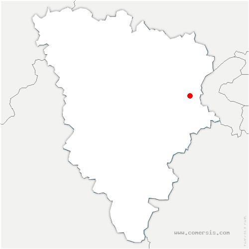 carte de localisation de Bailly
