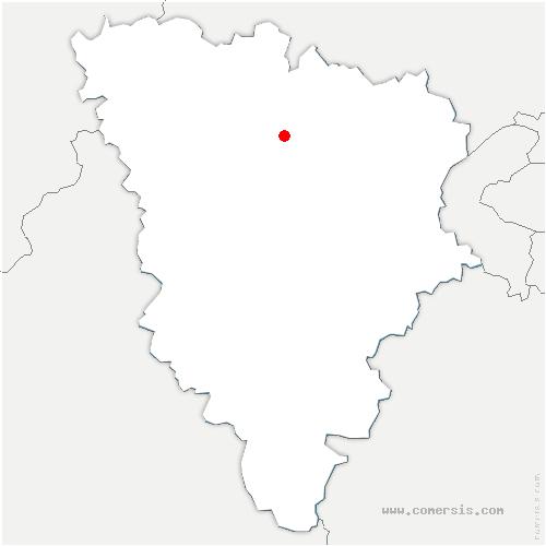 carte de localisation de Bazemont