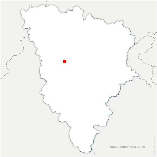 carte de localisation de Béhoust