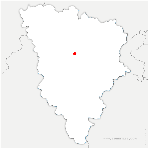 carte de localisation de Beynes