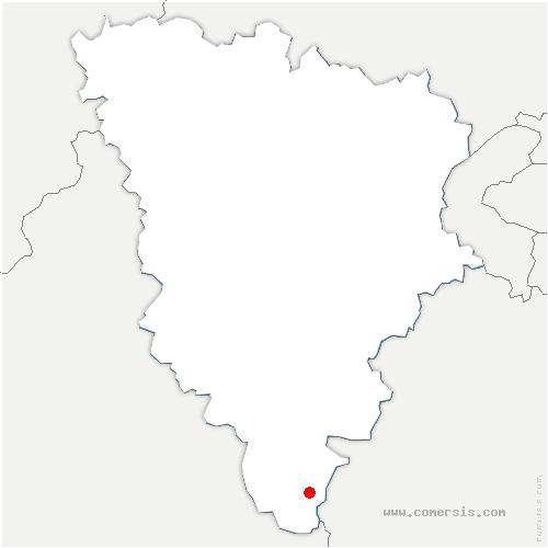 carte de localisation de Boinville-le-Gaillard