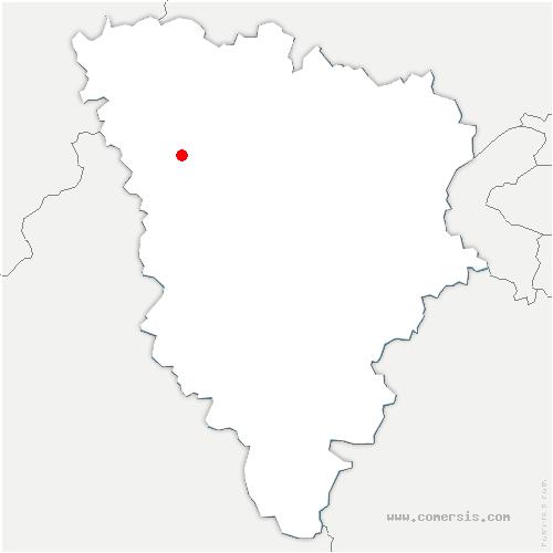 carte de localisation de Boinvilliers