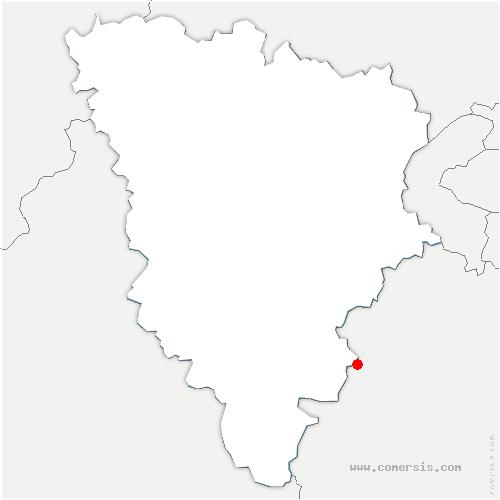 carte de localisation de Bonnelles