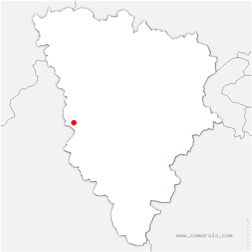 carte de localisation de Bourdonné