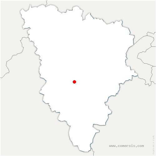 carte de localisation de Bréviaires