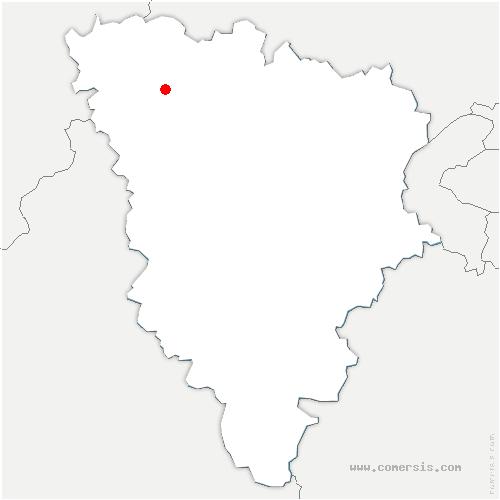 carte de localisation de Buchelay