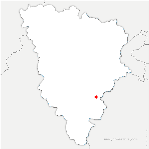 carte de localisation de Cernay-la-Ville