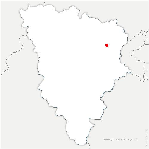 carte de localisation de Chambourcy