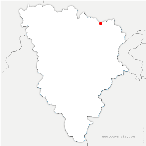 carte de localisation de Chanteloup-les-Vignes
