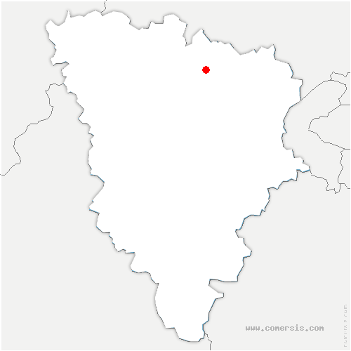 carte de localisation de Chapet