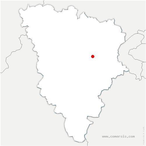 carte de localisation de Chavenay