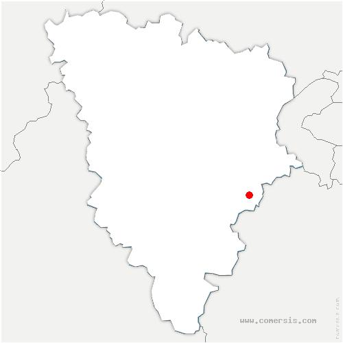 carte de localisation de Chevreuse