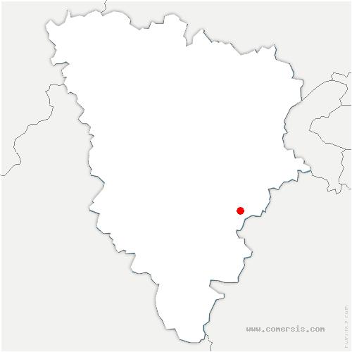 carte de localisation de Choisel