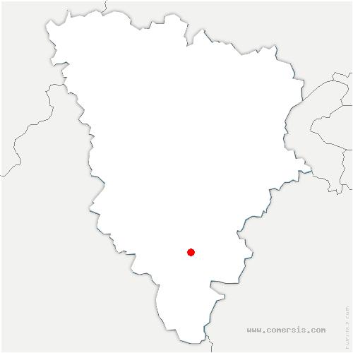 carte de localisation de Clairefontaine-en-Yvelines