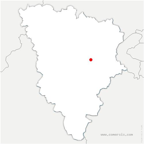 carte de localisation de Clayes-sous-Bois