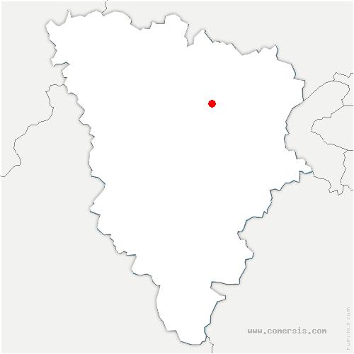 carte de localisation de Crespières