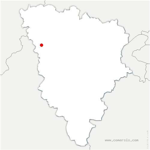 carte de localisation de Dammartin-en-Serve