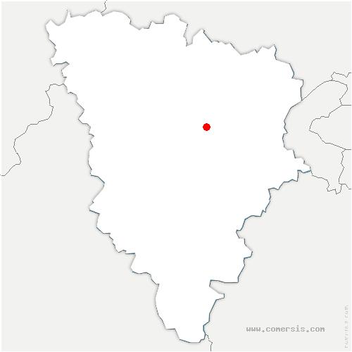 carte de localisation de Davron