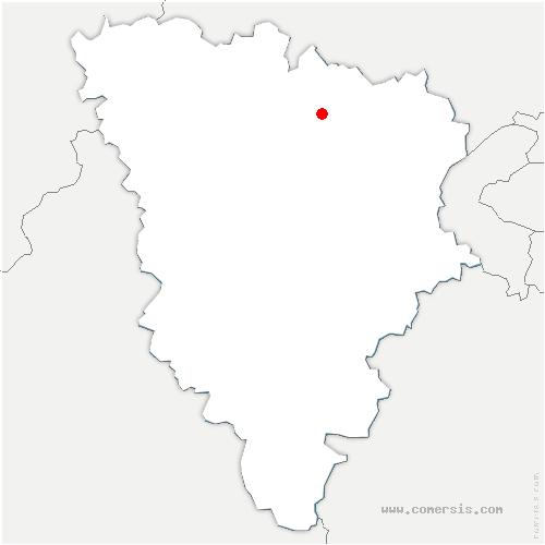 carte de localisation de Ecquevilly