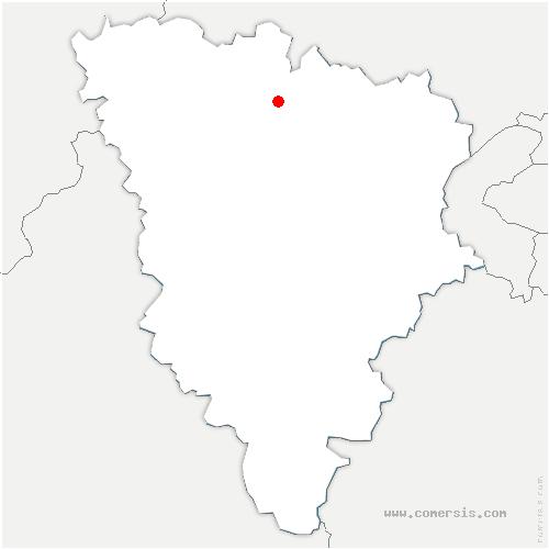 carte de localisation de Épône