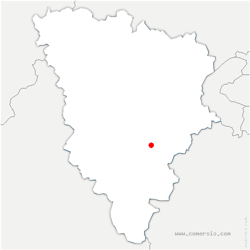 carte de localisation de Essarts-le-Roi