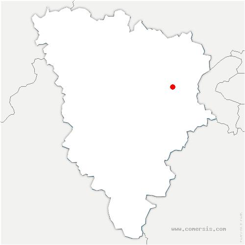 carte de localisation de Étang-la-Ville