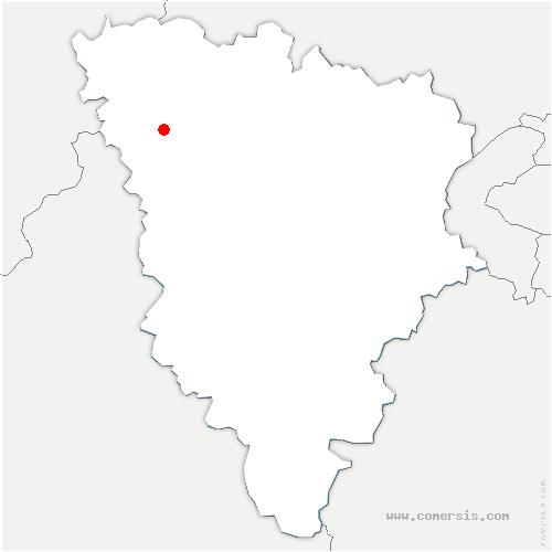carte de localisation de Favrieux