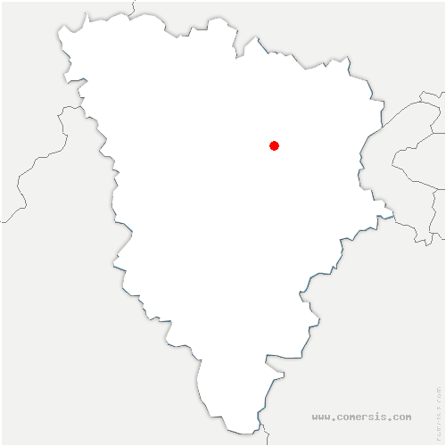 carte de localisation de Feucherolles