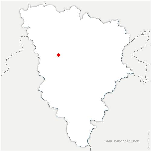carte de localisation de Flexanville