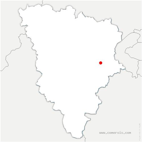 carte de localisation de Fontenay-le-Fleury