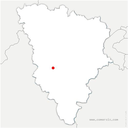carte de localisation de Gambaiseuil