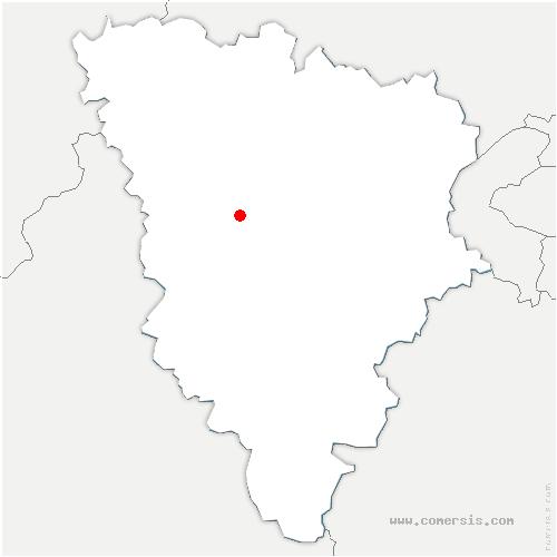 carte de localisation de Garancières