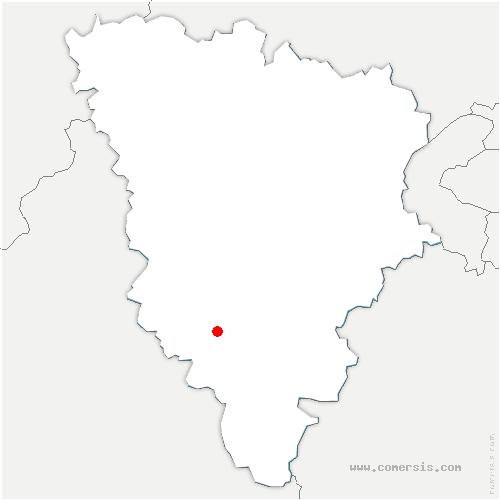carte de localisation de Gazeran